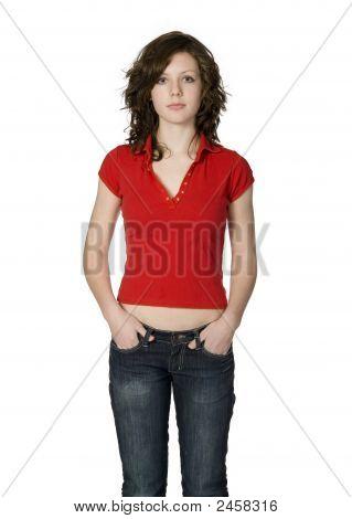Pretty Teenage Girl