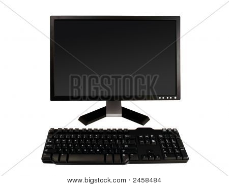 A Desktop Computer Isolated
