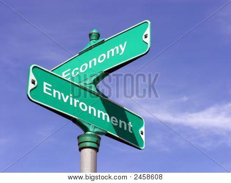Umgebung Vs Wirtschaft