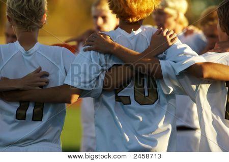 Fútbol Huddle dos