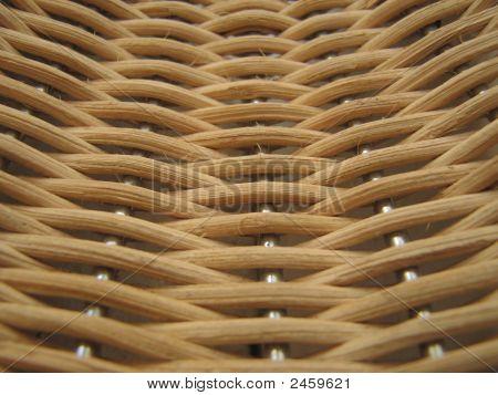 Textura de mimbre