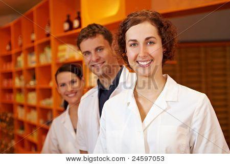 Three Competent Pharmacists