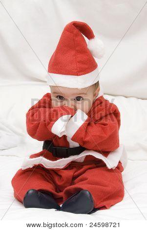 A Tender Santa Claus.