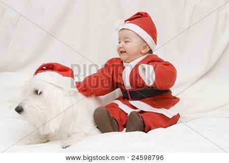 What A Pair Of Santas.
