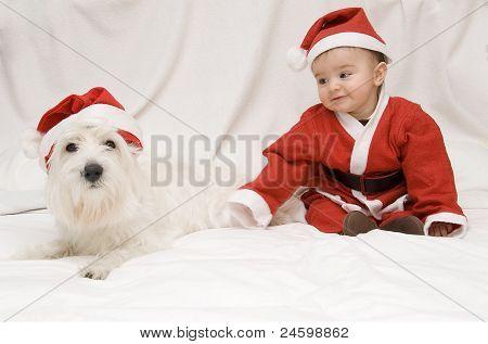 Tenderness In Christmas.