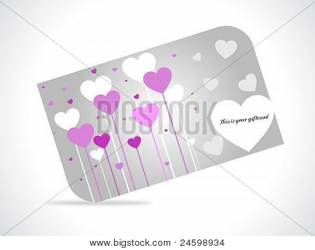 Hearts Giftcard