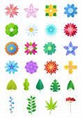 Paper Flowers Vector Floral Decoration Or Flowered Greeting Card Decor For Flowering Invitation On B poster