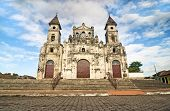 picture of guadalupe  - Wide Angle View of Guadalupe Church at Granada - JPG
