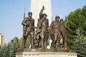 World War Ii Monument poster