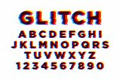 Latin Font Or English Alphabet Written On White Background. Letters Arranged In Alphabetical Order A poster