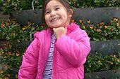 Happy Little Girl poster