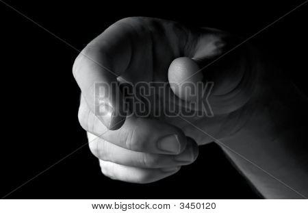 Mão do homem
