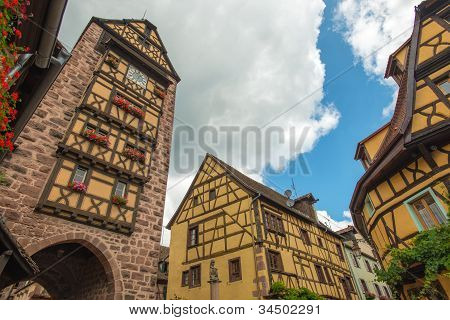The historical village Riquewihr