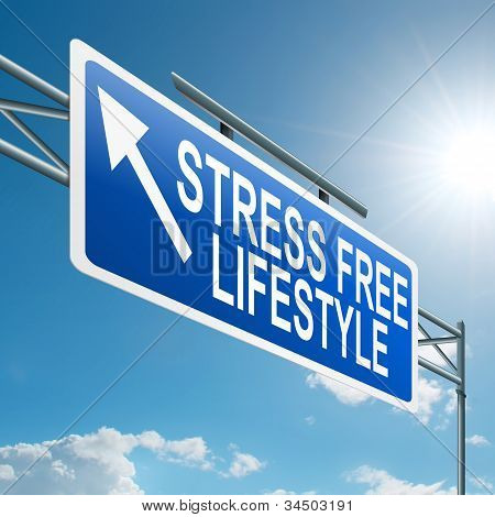 Stress Free Lifestyle.