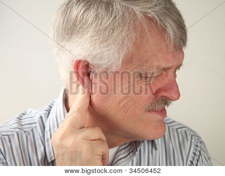 pain around the ear
