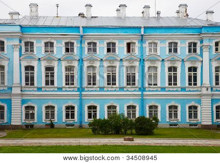 Palace In Russia, St. Petersburg - Smolny Monastery