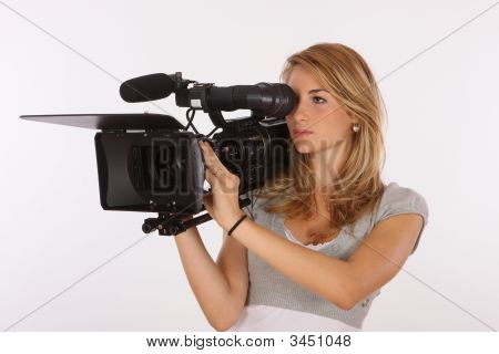 Pro Camera Woman