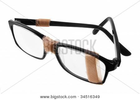 Broken Eye Glasses