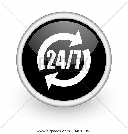 24/7 Service Icon
