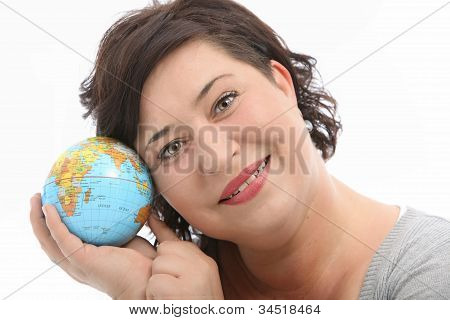 Hopeful Female Tourist