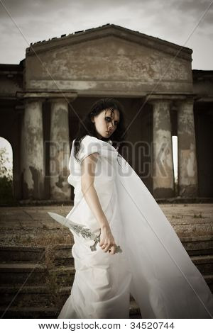 Girl With Sword