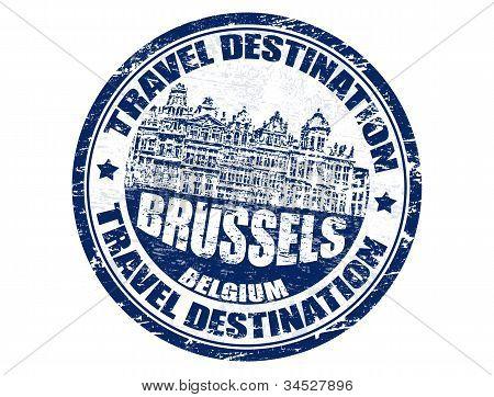 Brussels Stamp
