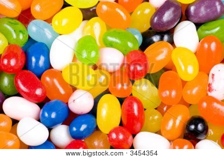 Jelly Beans Candy Close Up