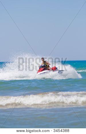 Man On A Jet-Ski
