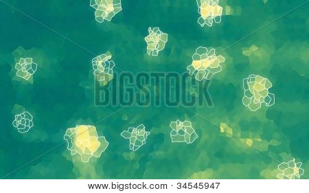 Abstract background- flowers