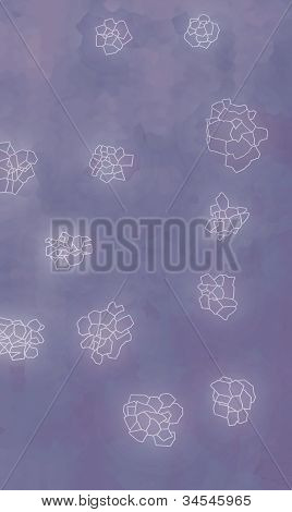 Abstract Background - Flowers.