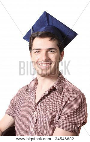 High School Graduate Smiling
