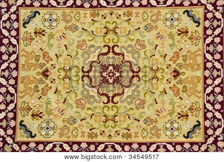 Traditional Carpet Of Portuguese Manufacture