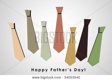 3D Happy Father's Day Card