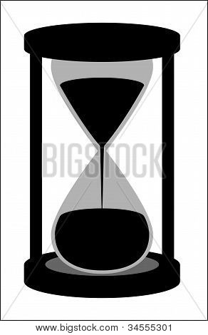 The silhouette of the hourglass.eps