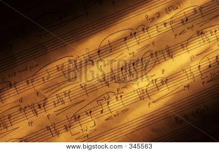 Handwritter Sheet Music
