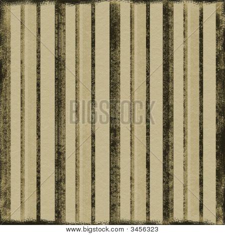 Vintage Brown Stripes
