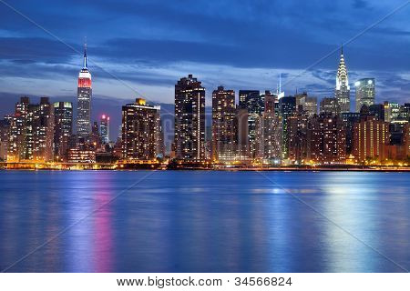 Skyline de Manhattan.