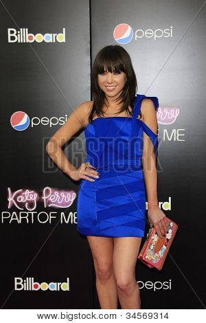 LOS ANGELES - JUN 26: Carly Rae Jepsen at the premiere of Paramount Insurge's 'Katy Perry: Part Of Me' held on June 26, 2012 in Hollywood, Los Angeles, California