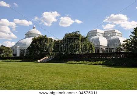 Conservatory at the New York Botanical Garden