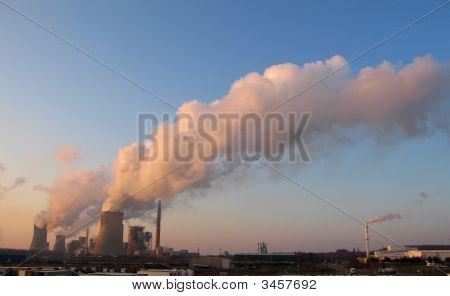Vapor de centrales eléctricas