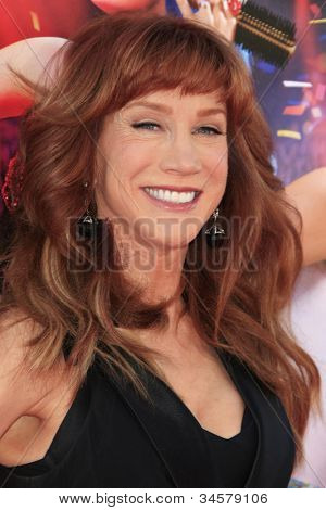 LOS ANGELES - JUN 26: Kathy Griffin at the premiere of Paramount Insurge's 'Katy Perry: Part Of Me' held on June 26, 2012 in Hollywood, Los Angeles, California