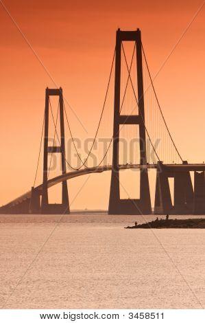 Bridge And Anglers
