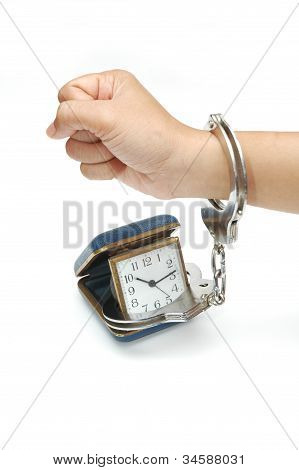 Time in handcuffs
