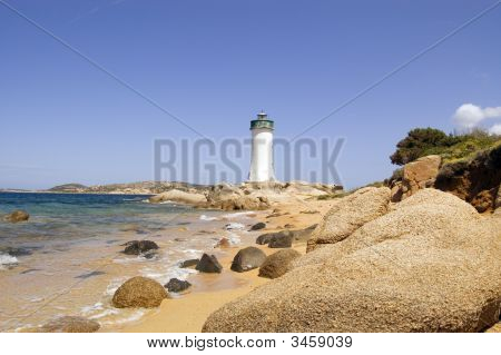 Lighthouse In Sardinia