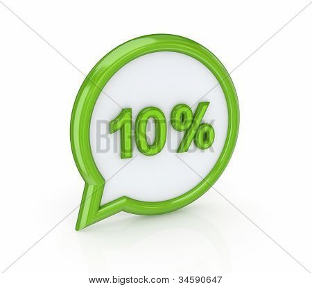50% icon.