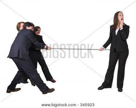 Business Teamwork-Wettbewerb
