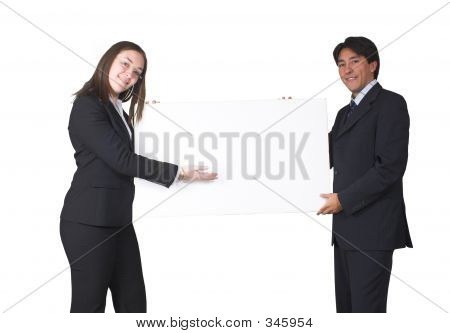 Business People Presenting