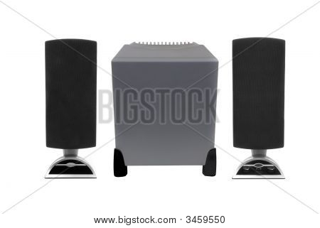 Computer Speakers With Woofer