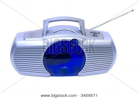 Modern Radio And Cd Player