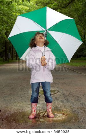Umbrella And Boots